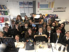 Year 7 Space Project Work Is Out Of This World!